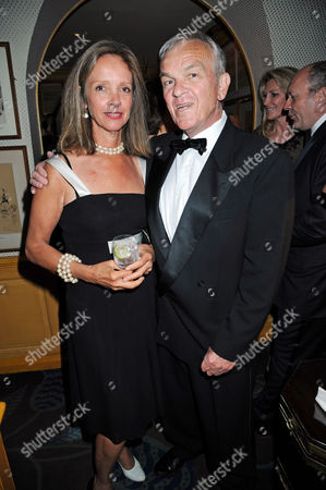 Sabrina Guinness and Lord Matthew Evans