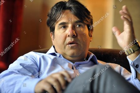 Stock Photo of Peter Dubens Owner Of Kx Gym Also Founder And Ceo Of Oakley Capital.