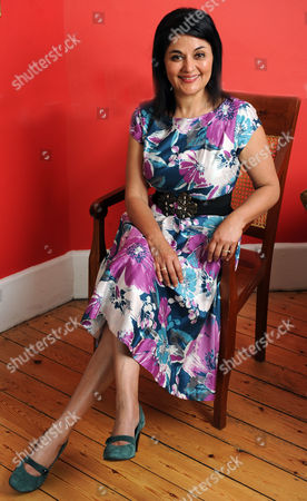 Lady Kishwar Desai Who Wrote ' Witness The Night' At Home In London.
