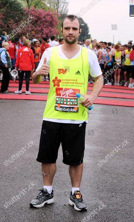 Ciaran Griffiths At The Start Of The London Marathon Blackheath. London Marathon 2010.