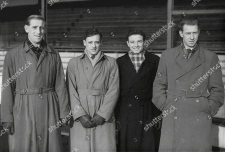 Stock Picture of L To R: George Hudson Jimmy Bain Roy Onslow And Harry May Swindon Town F.c.