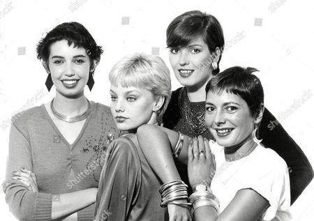 Four Versions Of The Crop Hairstyle. L-r: Model Kipsey Hair By Keith At Smile Sharon Hair By Anthony At Toni And Guy Kolbrun Hair By Vidal Sassoon And Fashion Designer Wendy Dagworthy Hair By Keith At Smile.