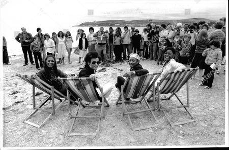 Boney M - Pop Stars / Group - 1979 Shows: Marcia Barrett Bobby Farrel Maizie Williams And Liz Mitchell.