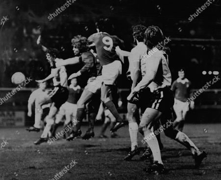Fulham V Nottingham Forest In 1975 For Fa Cup Fourth Round. Neil Martin.