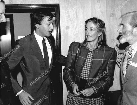 Editorial image of Lord And Lady Romsey In 1985. Norton Louis Philip Knatchbull 8th Baron Brabourne (born 8 October 1947) Known Until 2005 As Lord Romsey Is A British Peer. Lady Penelope Romsey (nee Eastwood)