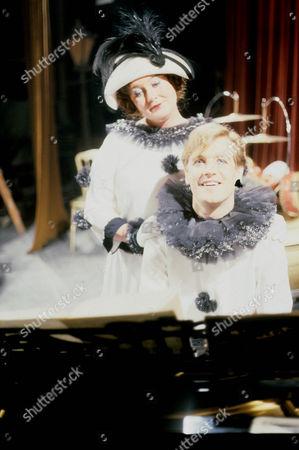 Jo Kendall as Mrs Joe and Jeremy Nicholas Inigo Jollifant