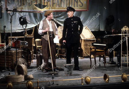 John Stratton as Jess Oakroyd and Robin Bailey as Police Inspector