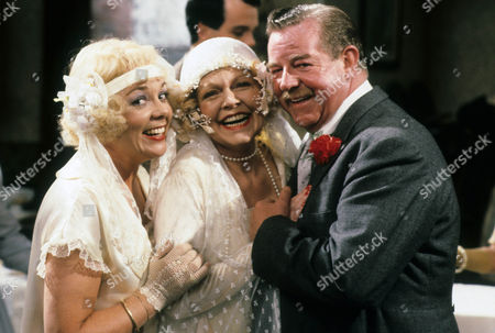Meg Johnson as Effie, Vivienne Martin as Elsie Longstaff and John Comer as Herbert Dulver