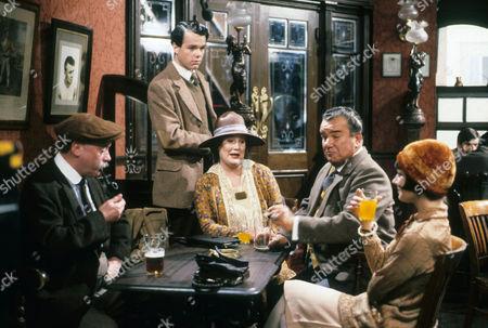 John Stratton as Jess Oakroyd, Simon Green as Jerry Jerningham, Jo Kendall as Mrs Joe, John Blythe as Joe Brundit and Jan Francis as Susie Dean