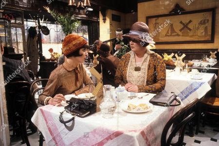 Jan Francis as Susie Dean and Jo Kendall as Mrs Joe