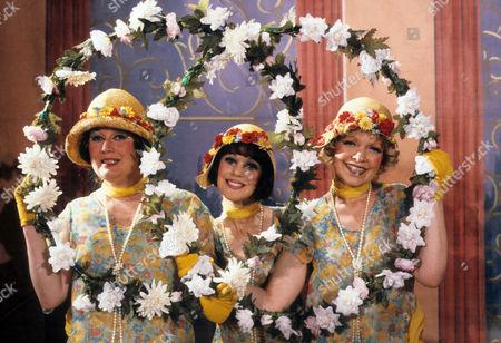 Jo Kendall as Mrs Joe, Jan Francis as Susie Dean and Vivienne Martin as Elsie Longstaff