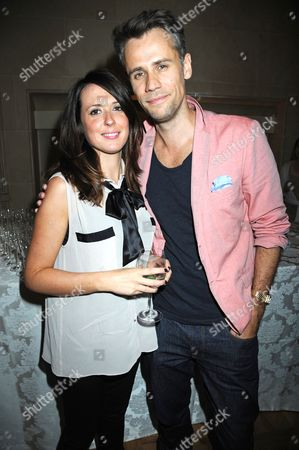 Richard Bacon and his wife, Rebecca McFarlane