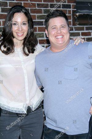 Jennifer Elia and Chaz Bono