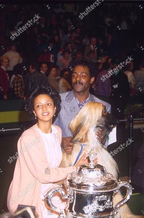 CHRIS AMOO WITH JULIE AMOO AND GABLE