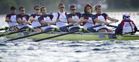 Editorial photo of GB Rowing Team Training, London, Britain - 10 May 2011