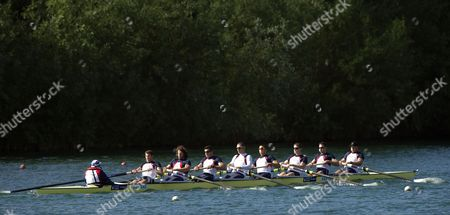 Editorial picture of GB Rowing Team Training, London, Britain - 10 May 2011