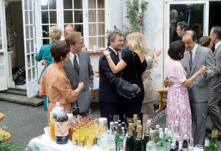 Jan Francis as Sally Hardcastle, Dennis Waterman as Thomas Gynn, Andrew McCulloch as Derek Sheen, Felicity Dean as Maureen Duffy, Marion Bailey as Jane Rowlands and David Horovitch as Bill Rowlands