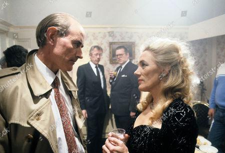 Martin Sadler as Inspector Thompson, Leslie Schofield as Harry Finch, Warren Clarke as Jack Finch and Shirley Stelfox as Judy Finch