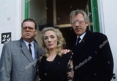 Warren Clarke as Jack Finch, Shirley Stelfox as Judy Finch and Leslie Schofield as Harry Finch
