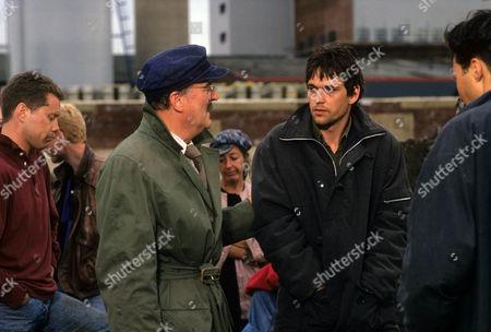 Stock Photo of Moray Watson as Sykes and Dougray Scott as Alex