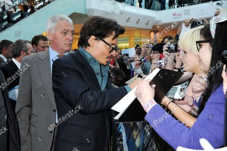 Johnny Depp and bodyguard Jerry Judge