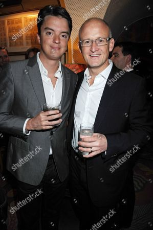 Jamie Caring and Charles Gibb, President of Belvedere