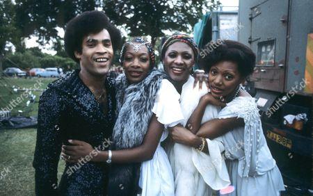 Boney M - Bobby Farrell, Maizie Williams, Marcia Barrett and Liz Mitchell, Torquay