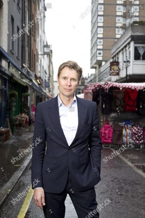 Stock Image of Fredrik Arnander, CEO of Keybroker in Berwick Street