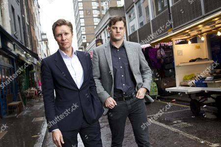 Fredrik Arnander, CEO of Keybroker and Fredrik Holmen CTO and Co-Founder in Berwick Street