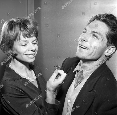 Jill Bennett and Lyndon Brook