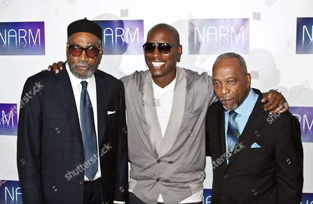 Kenneth Gamble, Tyrese Gibson and Leon Huff