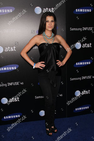 Editorial picture of Samsung Infuse 4G For AT&T Launch Event, Los Angeles, America - 12 May 2011