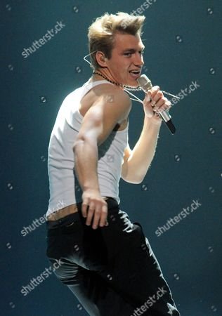Editorial image of Eurovision Song Contest, Rehearsals, Dusseldorf, Germany - 13 May 2011