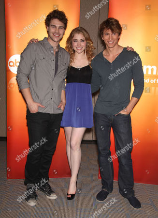 Grey Damon, Skyler Samuels and Benjamin Stone