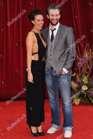 Jennifer Metcalfe and Glen Wallace