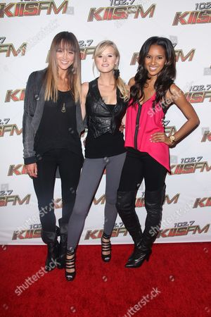 Sharni Vinson, Sasha Jackson and Elizabeth Mathis