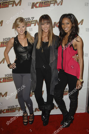 Sasha Jackson, Sharni Vinson & Elizabeth Mathis