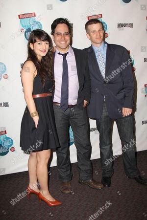 Sheila Vand, Rajiv Joseph and Brad Fleischer