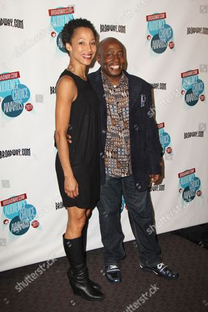 Stock Photo of Camille Brown and Ron Kunene