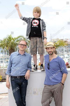 Director Markus Schleinzer, David Rauchenberger and Michael Fuith