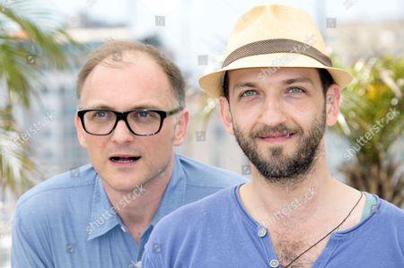 Director Markus Schleinzer and actor Michael Fuith