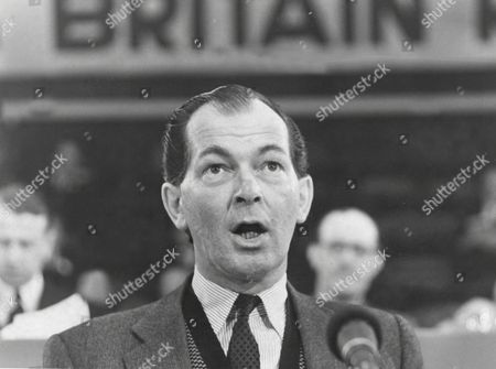 Maurice Macmillan Mp At Conservative Party Conference Brighton 1965.