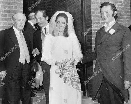 Editorial photo of Alexander Macmillan's Wedding With Harold Macmillan Mrs. Alexander (brigette) Macmillan Alexander Macmillan. Maurice Macmillan.