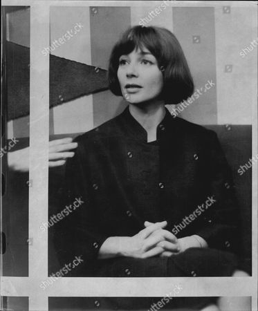 Editorial image of French Actress Emmanuele Riva In 1962.
