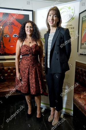 Jo Manuel (founder of The Special Yoga Centre) and Samantha Cameron