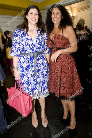 Kirstie Allsopp and Jo Manuel (founder of The Special Yoga Centre)