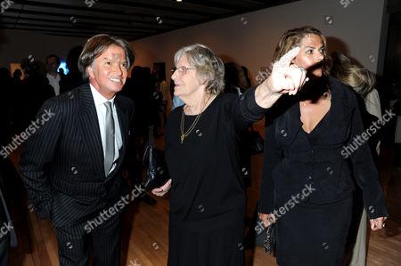 Richard Caring, Pamela Cashin and Tracey Emin