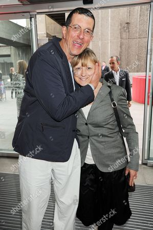 Antony Gormley and his wife Vicken Parsons