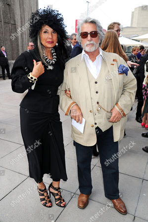 Justin de Villeneuve and wife Sue Timney