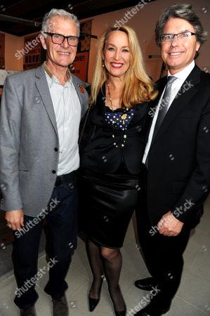 Tony King, Jerry Hall and Warwick Hemsley